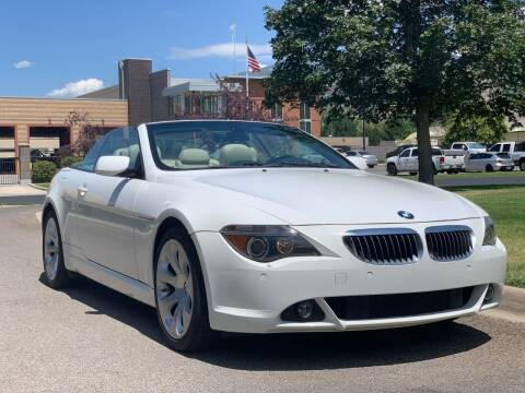 2007 BMW 6 Series for sale at A.I. Monroe Auto Sales in Bountiful UT