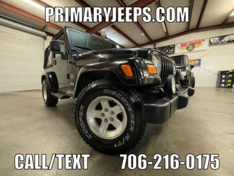 2004 Jeep Wrangler for sale at Primary Auto Group in Dawsonville GA