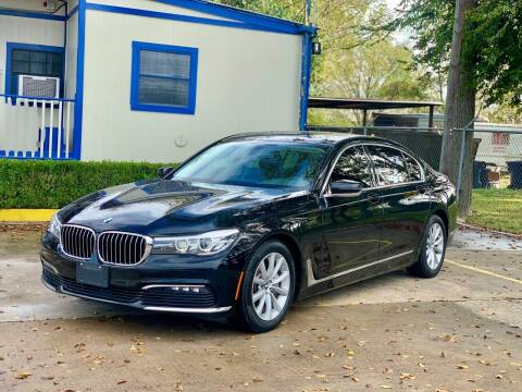 2018 BMW 7 Series for sale at USA Car Sales in Houston TX