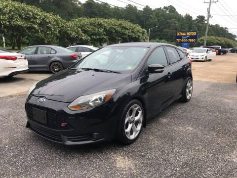 2013 Ford Focus for sale at Oceana Motors in Virginia Beach VA
