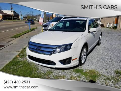 2012 Ford Fusion for sale at Smith's Cars in Elizabethton TN