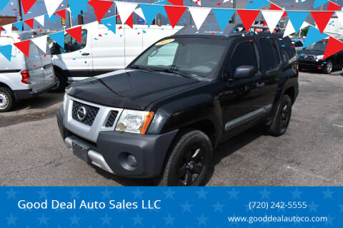 2013 Nissan Xterra for sale at Good Deal Auto Sales LLC in Denver CO