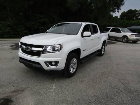 2018 Chevrolet Colorado for sale at S & T Motors in Hernando FL