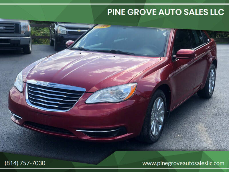 2011 Chrysler 200 for sale at Pine Grove Auto Sales LLC in Russell PA