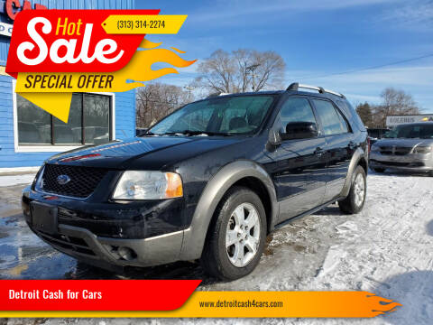 2007 Ford Freestyle for sale at Detroit Cash for Cars in Warren MI