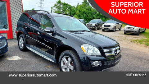 2008 Mercedes-Benz GL-Class for sale at SUPERIOR AUTO MART in Amelia OH