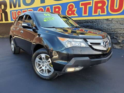 2008 Acura MDX for sale at B & R Motor Sales in Chicago IL
