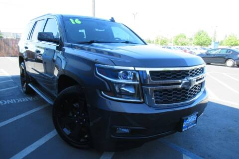 2016 Chevrolet Tahoe for sale at Choice Auto & Truck in Sacramento CA
