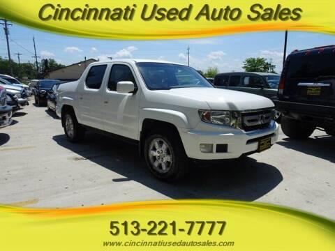 2009 Honda Ridgeline for sale at Cincinnati Used Auto Sales in Cincinnati OH