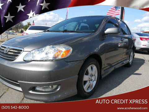 2008 Toyota Corolla for sale at Auto Credit Xpress in North Little Rock AR