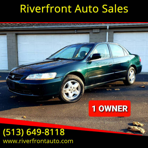 2000 Honda Accord for sale at Riverfront Auto Sales in Middletown OH
