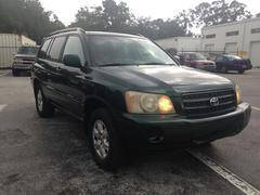 2003 Toyota Highlander for sale at Popular Imports Auto Sales in Gainesville FL