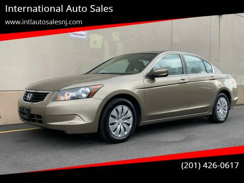 2008 Honda Accord for sale at International Auto Sales in Hasbrouck Heights NJ