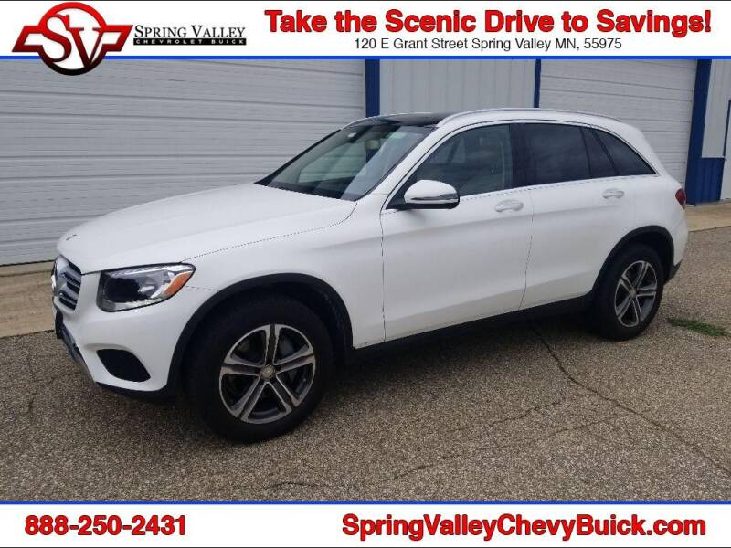 2016 Mercedes-Benz GLC for sale at Spring Valley Chevrolet Buick in Spring Valley MN