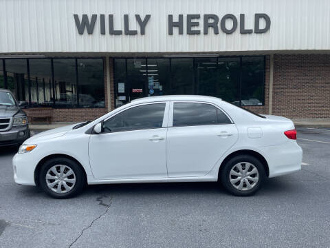 2013 Toyota Corolla for sale at Willy Herold Automotive in Columbus GA