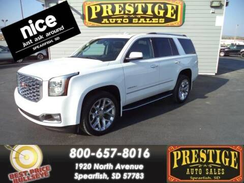 2018 GMC Yukon for sale at PRESTIGE AUTO SALES in Spearfish SD