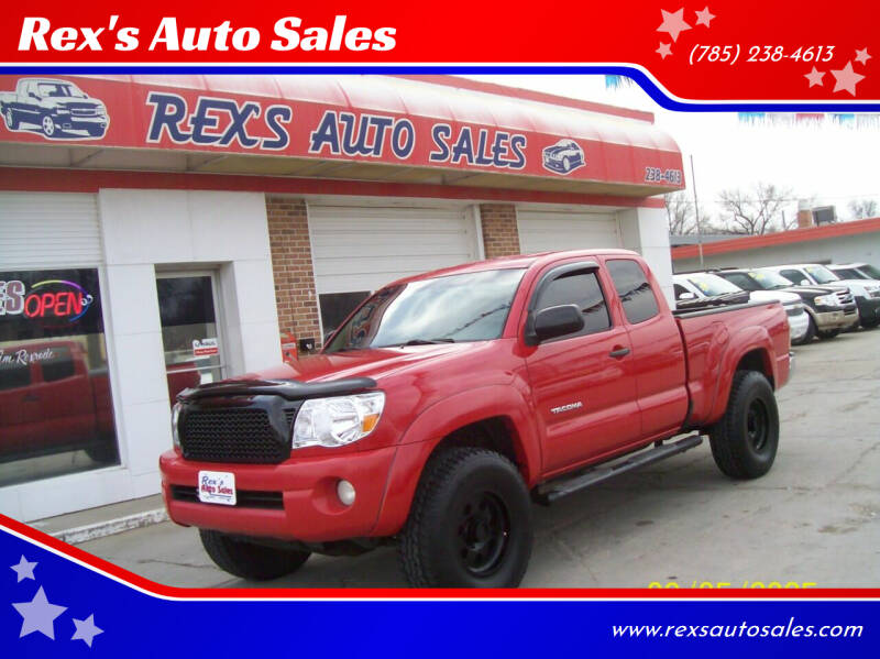 2006 Toyota Tacoma for sale at Rex's Auto Sales in Junction City KS
