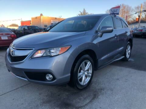 2014 Acura RDX for sale at Crestwood Auto Center in Richmond VA