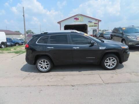2014 Jeep Cherokee for sale at Jefferson St Motors in Waterloo IA