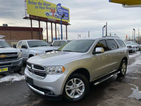 2012 Dodge Durango for sale at New Wave Auto Brokers & Sales in Denver CO