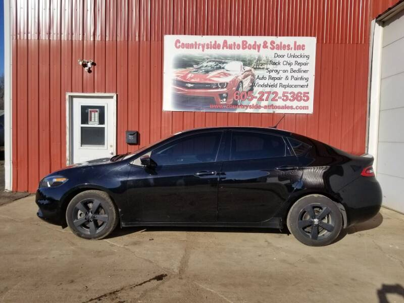2016 Dodge Dart for sale at Countryside Auto Body & Sales, Inc in Gary SD