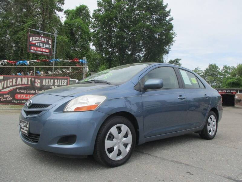 2008 Toyota Yaris for sale at Vigeants Auto Sales Inc in Lowell MA