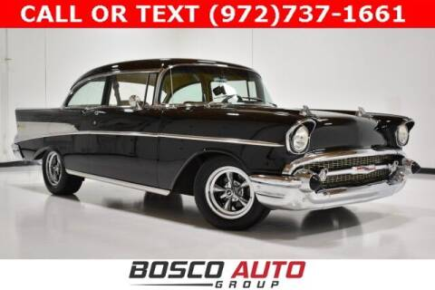 1957 Chevrolet Bel Air for sale at Bosco Auto Group in Flower Mound TX