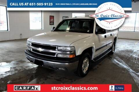 2004 Chevrolet Suburban for sale at St. Croix Classics in Lakeland MN