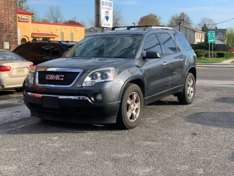 2011 GMC Acadia for sale at Innovative Auto Group in Hasbrouck Heights NJ