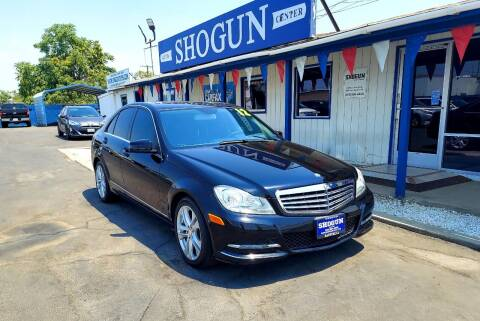 2012 Mercedes-Benz C-Class for sale at Shogun Auto Center in Hanford CA