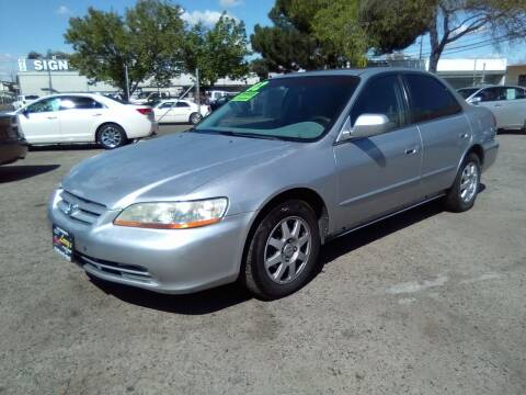 2002 Honda Accord for sale at Larry's Auto Sales Inc. in Fresno CA