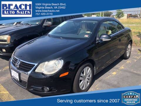 2007 Volkswagen Eos for sale at Beach Auto Sales in Virginia Beach VA