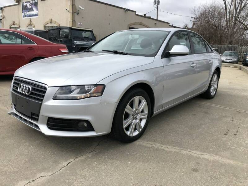 2009 Audi A4 for sale at T & G / Auto4wholesale in Parma OH