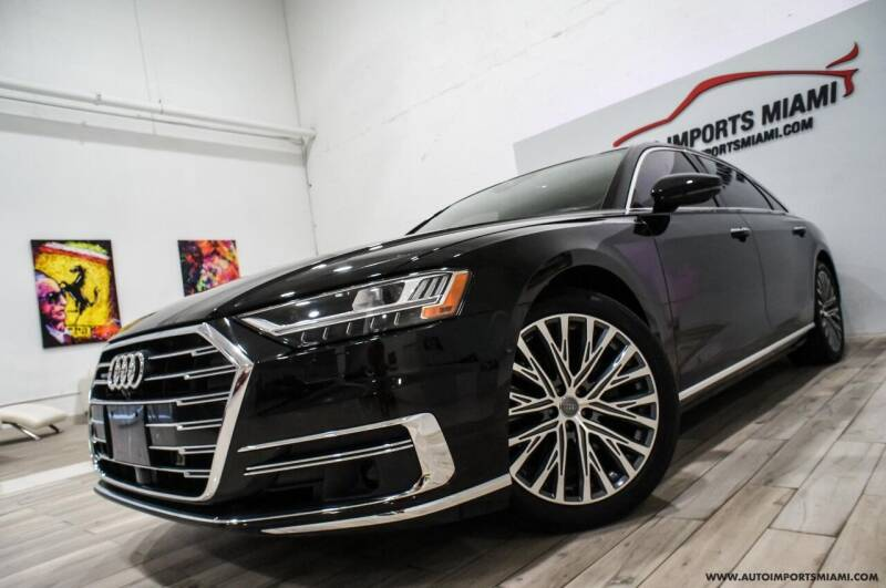 2019 Audi A8 L for sale at AUTO IMPORTS MIAMI in Fort Lauderdale FL