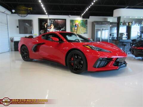 2020 Chevrolet Corvette for sale at The New Auto Toy Store in Fort Lauderdale FL