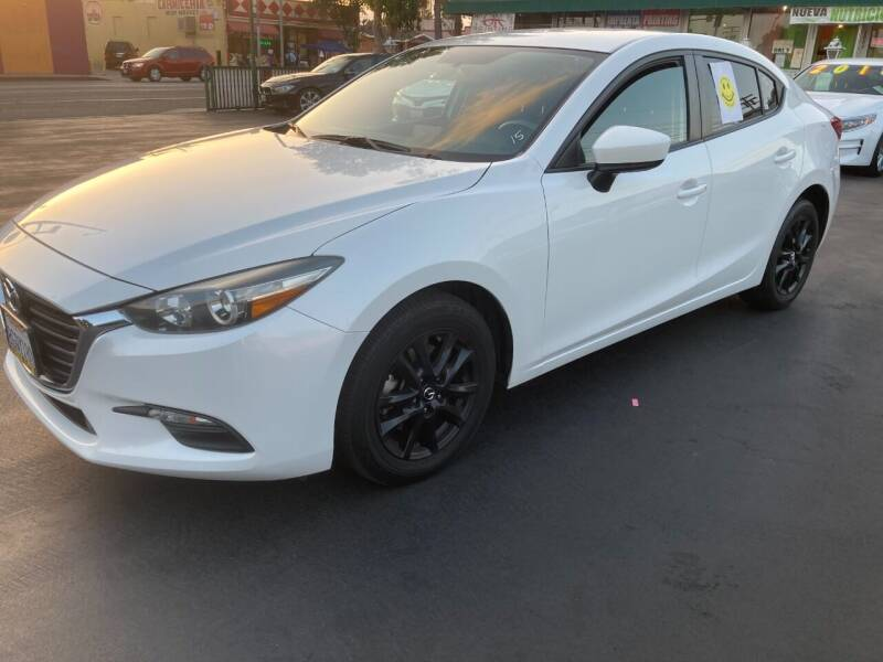2017 Mazda MAZDA3 for sale at La Mesa Auto Sales in Huntington Park CA
