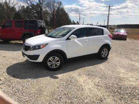 2011 Kia Sportage for sale at Delta Motors LLC in Jonesboro AR