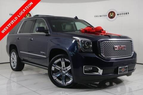 2017 GMC Yukon for sale at INDY'S UNLIMITED MOTORS - UNLIMITED MOTORS in Westfield IN