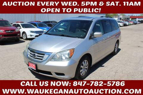 2009 Honda Odyssey for sale at Waukegan Auto Auction in Waukegan IL