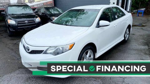 2014 Toyota Camry for sale at ELITE MOTORS in West Haven CT