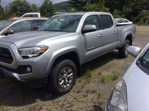 2018 Toyota Tacoma for sale at Route 102 Auto Sales  and Service in Lee MA