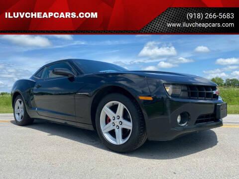 2010 Chevrolet Camaro for sale at ILUVCHEAPCARS.COM in Tulsa OK