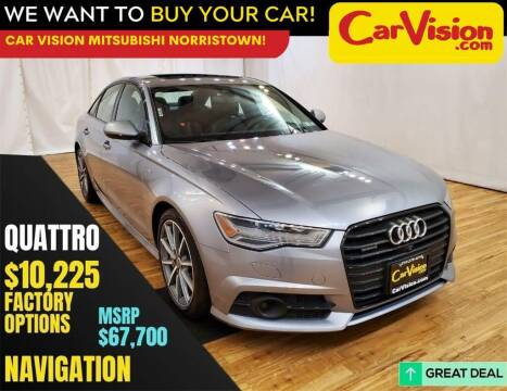 2018 Audi A6 for sale at Car Vision Mitsubishi Norristown in Trooper PA