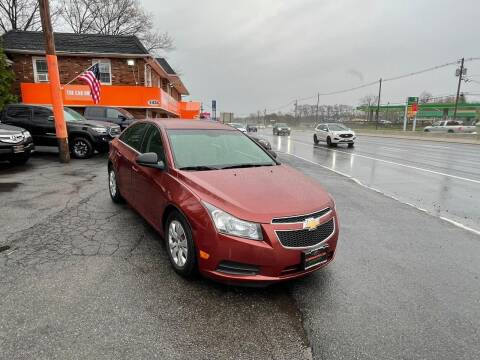 2012 Chevrolet Cruze for sale at Bloomingdale Auto Group - The Car House in Butler NJ