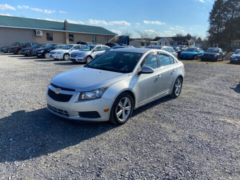 2012 Chevrolet Cruze for sale at US5 Auto Sales in Shippensburg PA