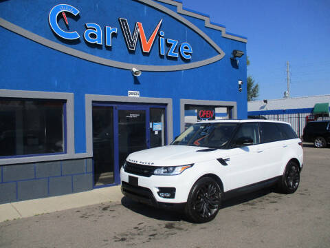 2017 Land Rover Range Rover Sport for sale at Carwize in Detroit MI