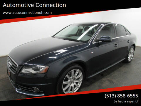 2012 Audi A4 for sale at Automotive Connection in Fairfield OH