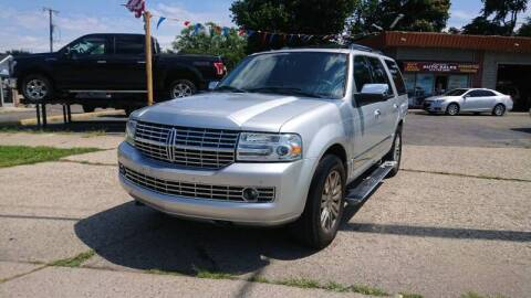 2010 Lincoln Navigator for sale at Lamarina Auto Sales in Dearborn Heights MI