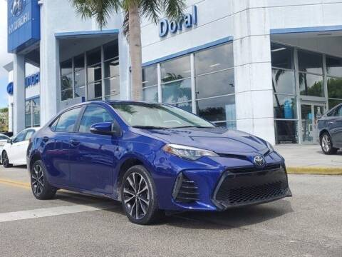 2019 Toyota Corolla for sale at DORAL HYUNDAI in Doral FL