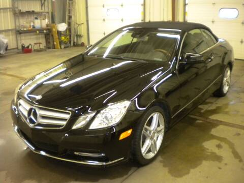 2013 Mercedes-Benz E-Class for sale at AUTO MART in Oshkosh WI